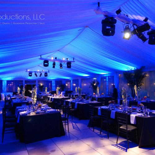 Event Lighting Setup